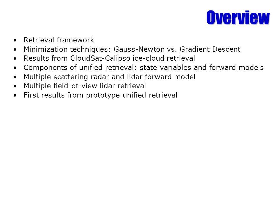 Overview Retrieval framework