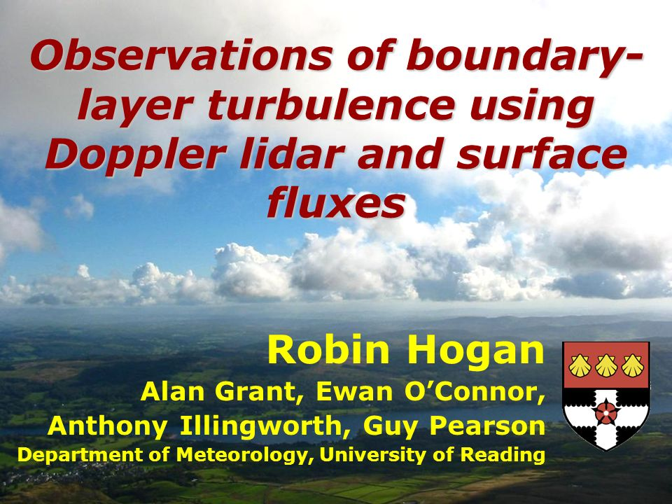 Observations of boundary-layer turbulence using Doppler lidar and surface fluxes