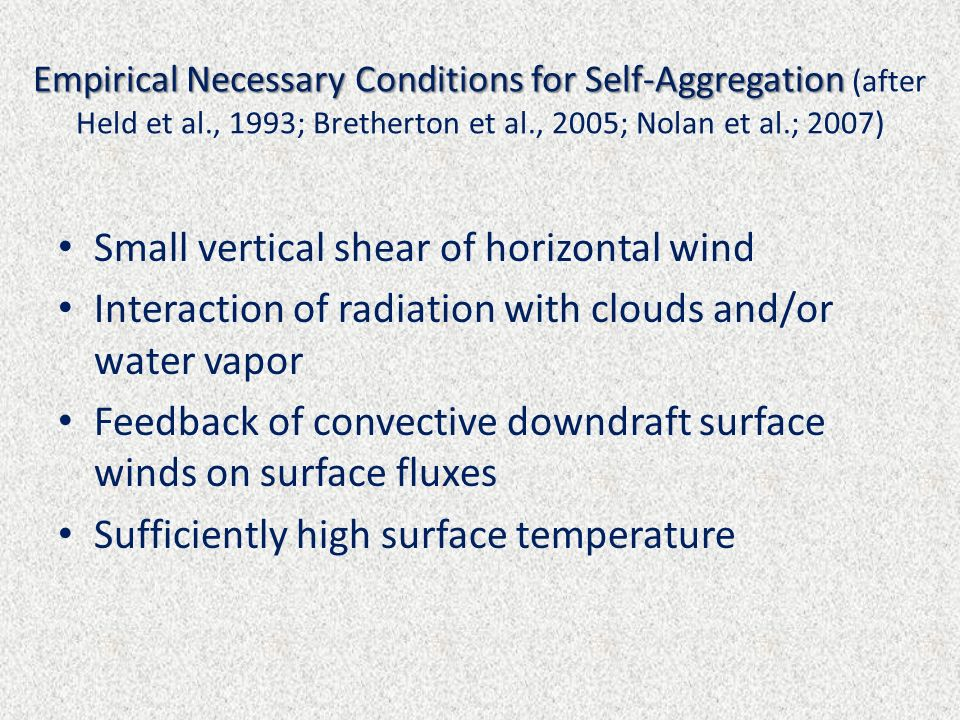 Small vertical shear of horizontal wind
