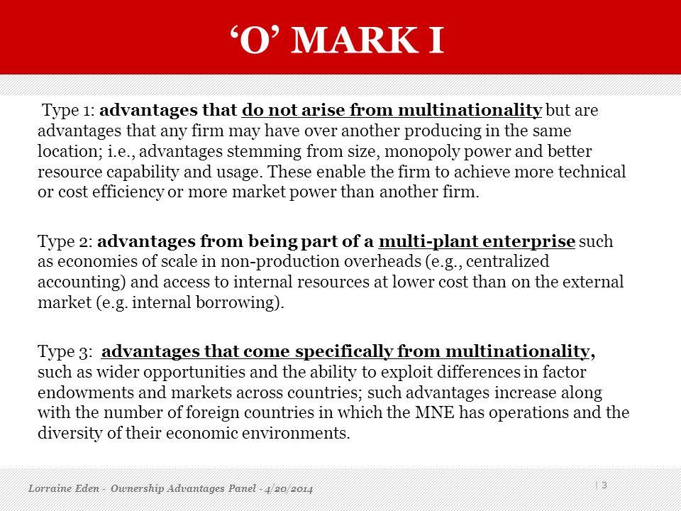 'O' mark I