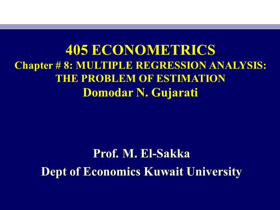 econometrics a regression analysis Mlr5 variance lm statistic testing heteroskedasticity wls and gls econometrics multiple regression analysis: heteroskedasticity jo~ao valle e azevedo.