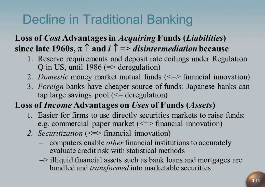 Decline in Traditional Banking