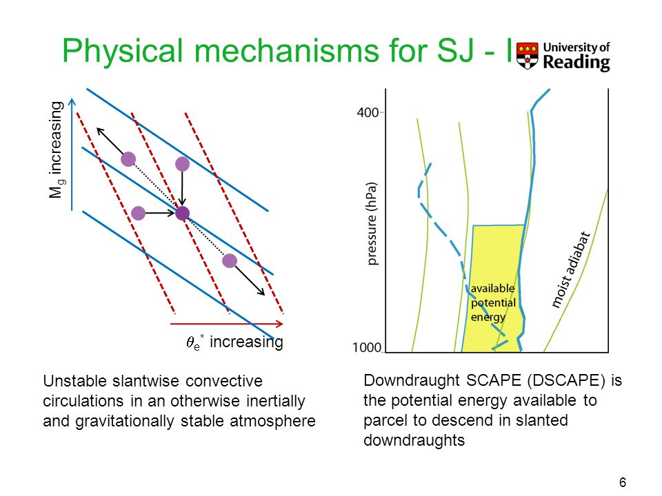 Physical mechanisms for SJ - I