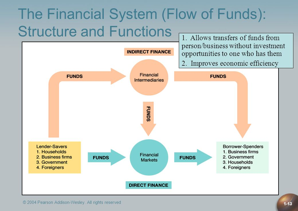 The Financial System (Flow of Funds): Structure and Functions