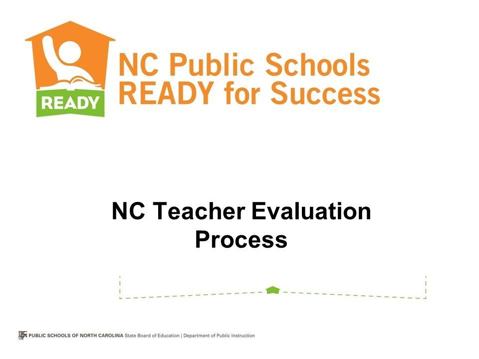 NC Teacher Evaluation Process