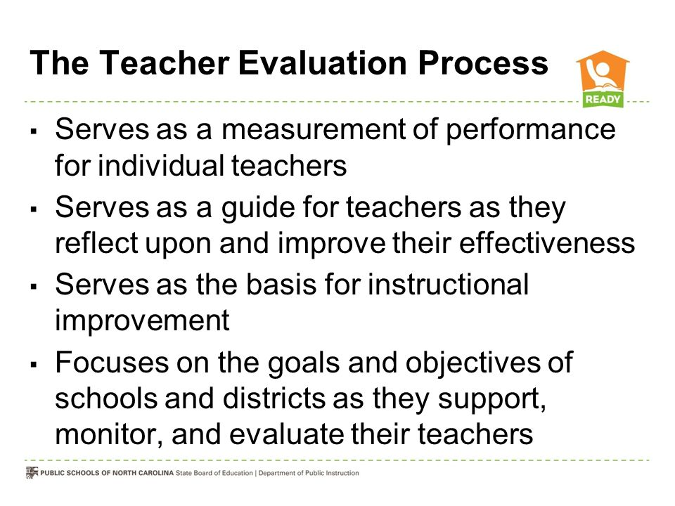 Nc Teacher Evaluation Process  Ppt Video Online Download