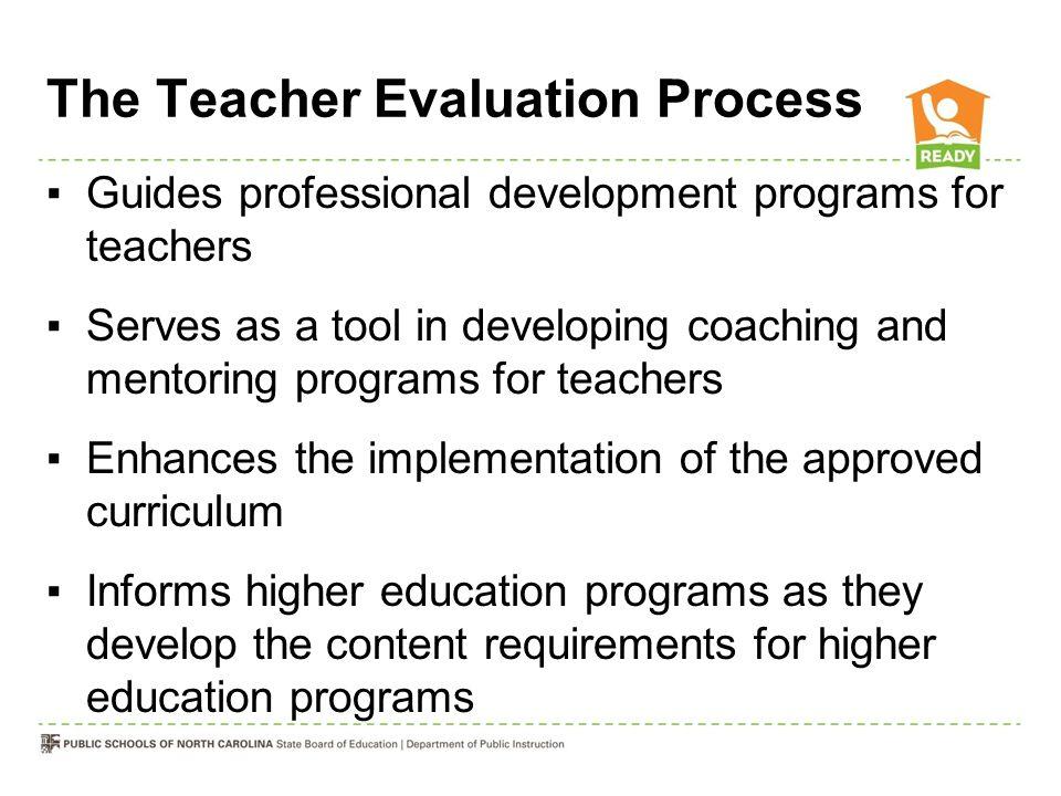 The Teacher Evaluation Process