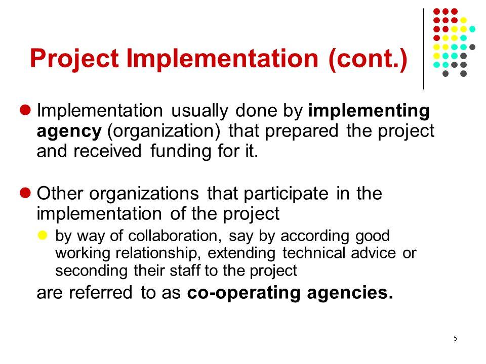 Project Implementation (cont.)