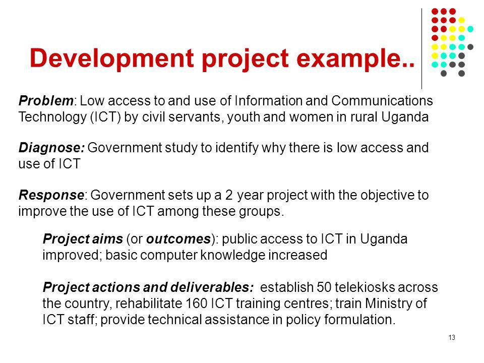 Development project example..