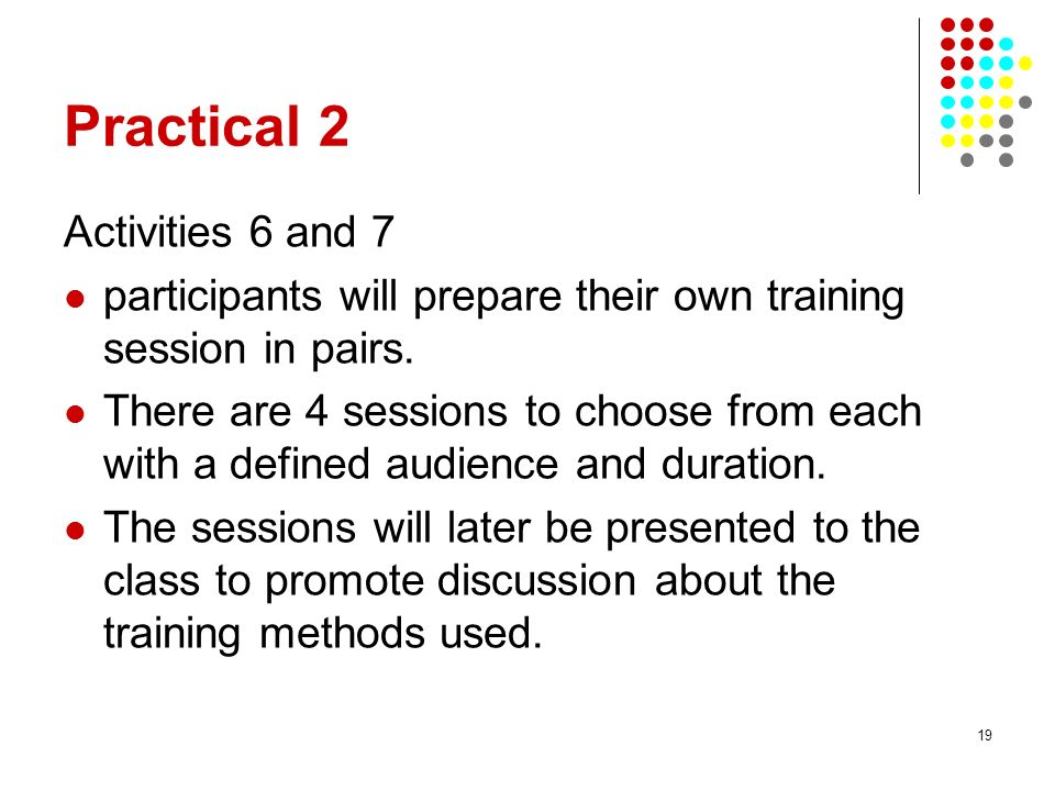 Practical 2 Activities 6 and 7