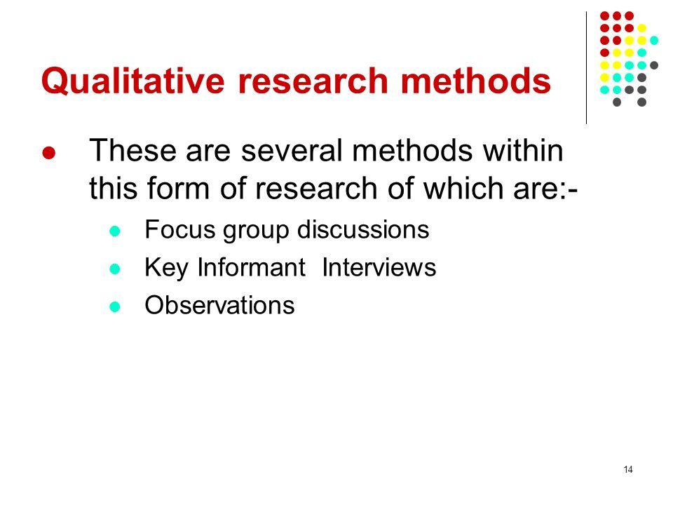 the focus group method as a form of qualitative research in marketing Hat is a focus group  focus groups are a qualitative data collection method,  data collection methods for program  evaluation:.