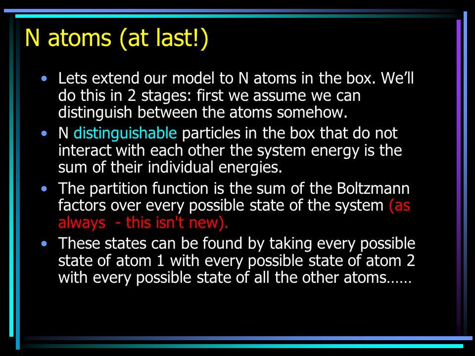 N atoms (at last!)