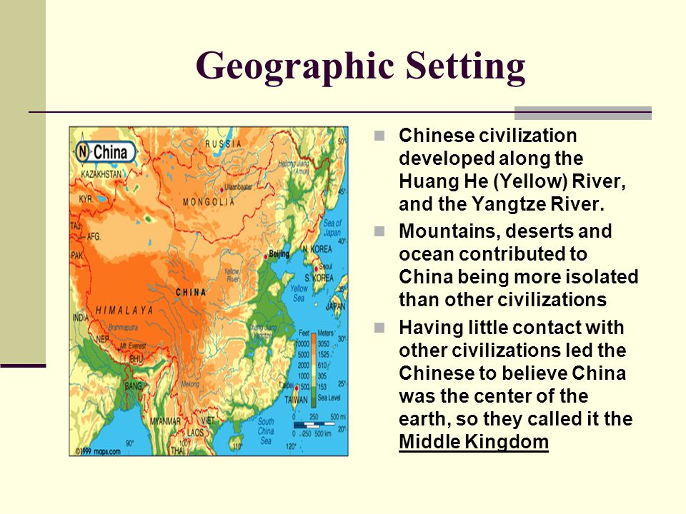 China during the time period that ancient greece rome and the geographic setting chinese civilization developed along the huang he yellow river and the sciox Choice Image