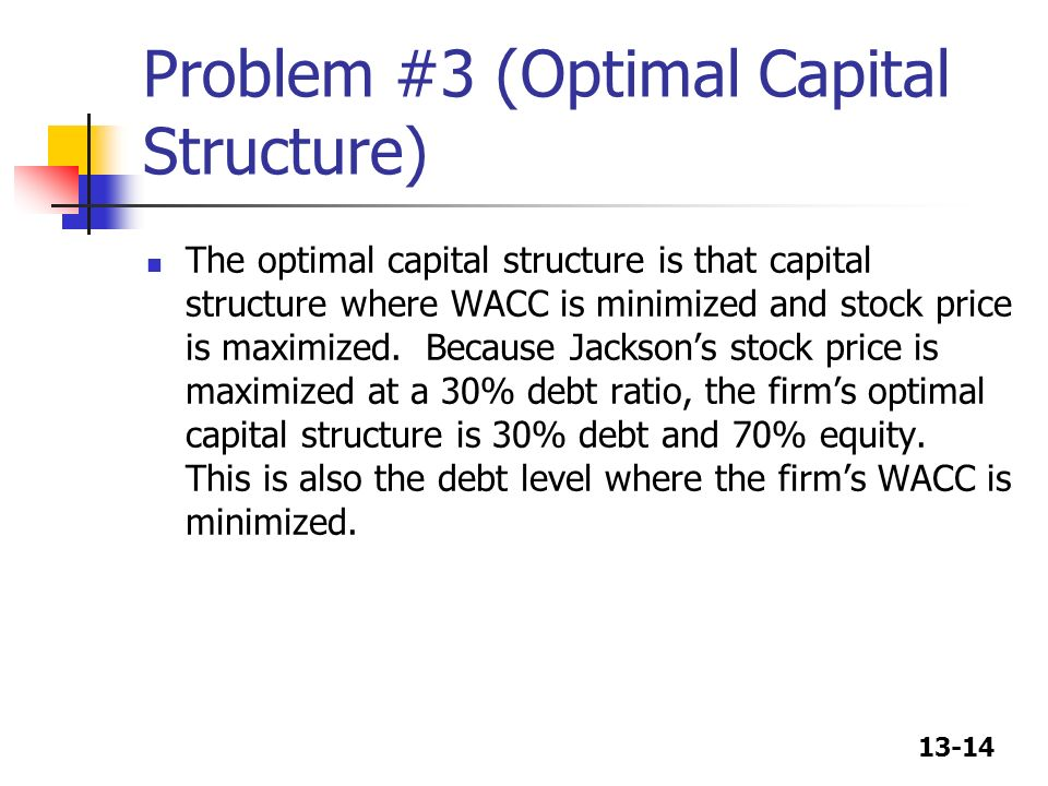 capital structure lit review