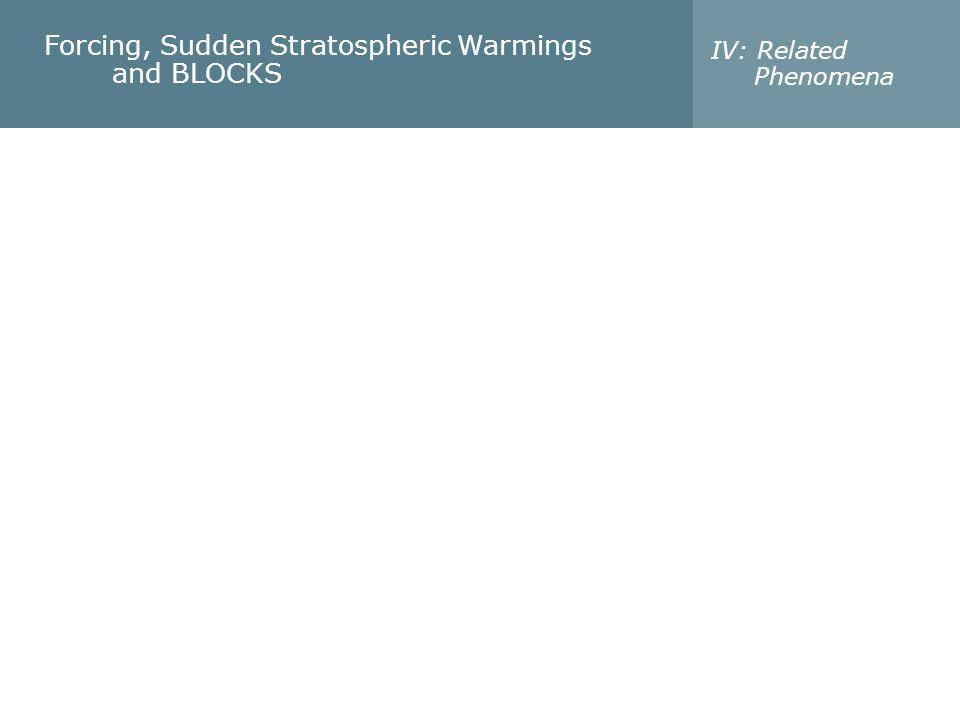 Troposphere - Stratosphere Linkage