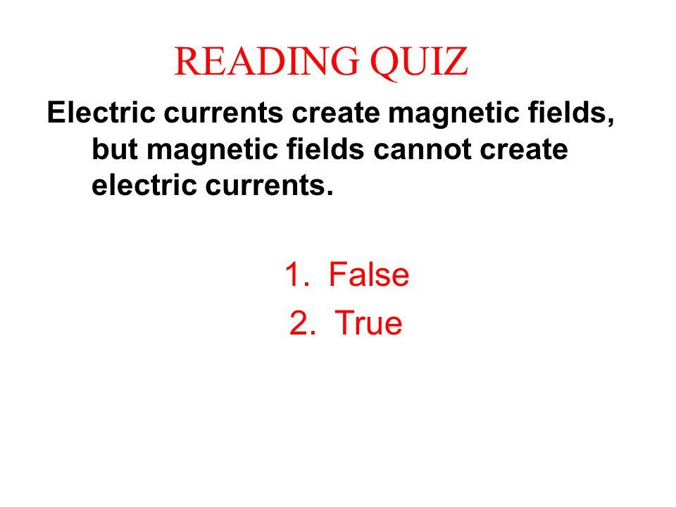 reading quiz false true