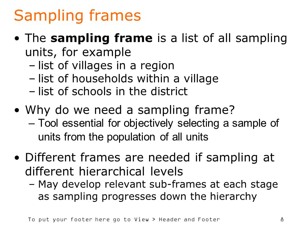 How to Determine Sample Size, Determining Sample Size