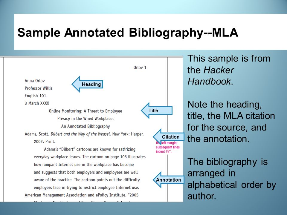 annotated bibilography Wondering how to write turabian annotated bibliography check out 6 tips below or contact solidessaycom for help.