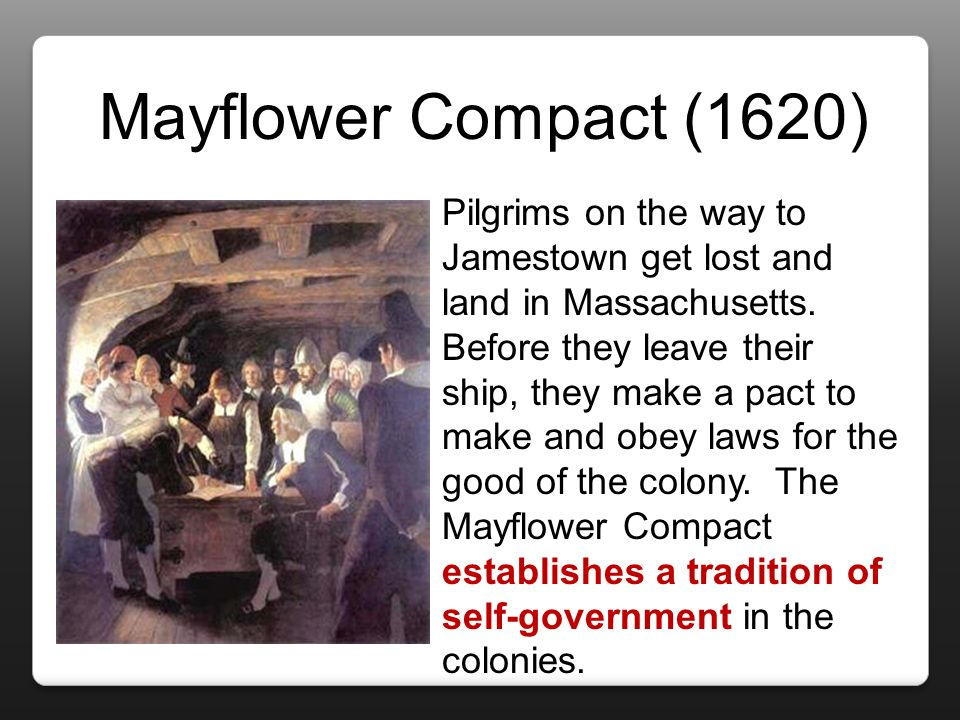 mayflower compact essay