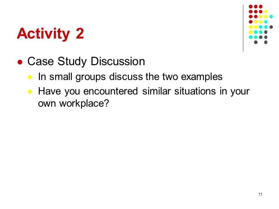 Activity 2 Case Study Discussion