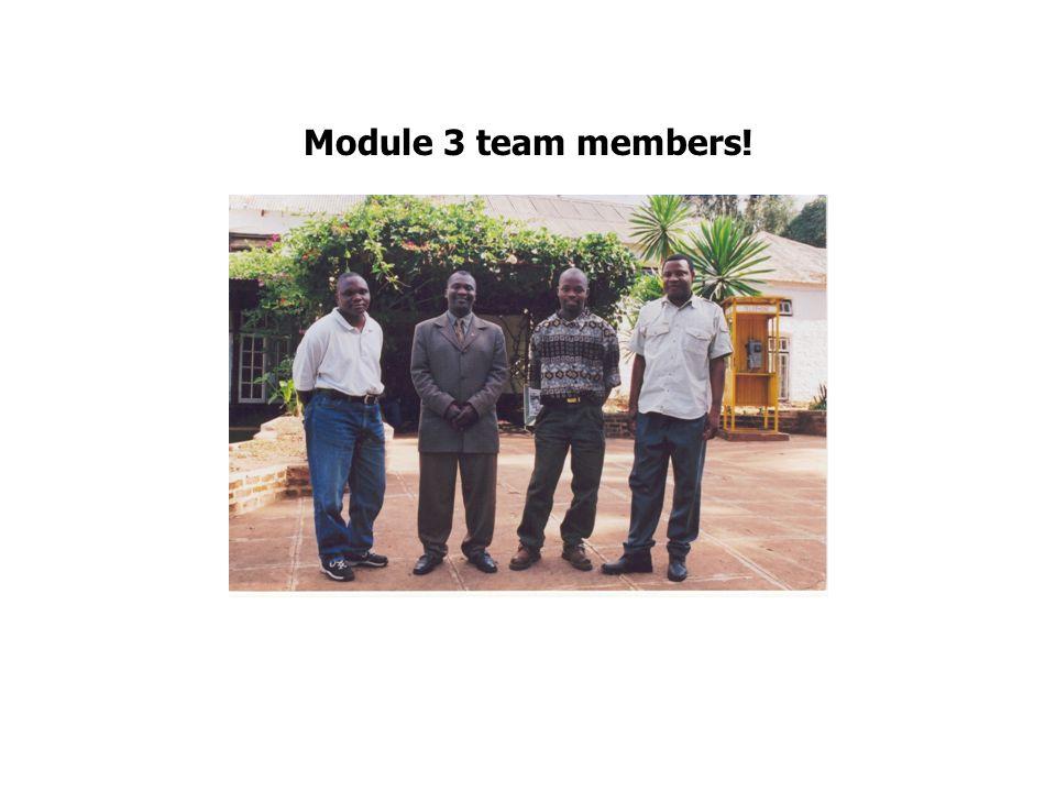 Module 3 team members!