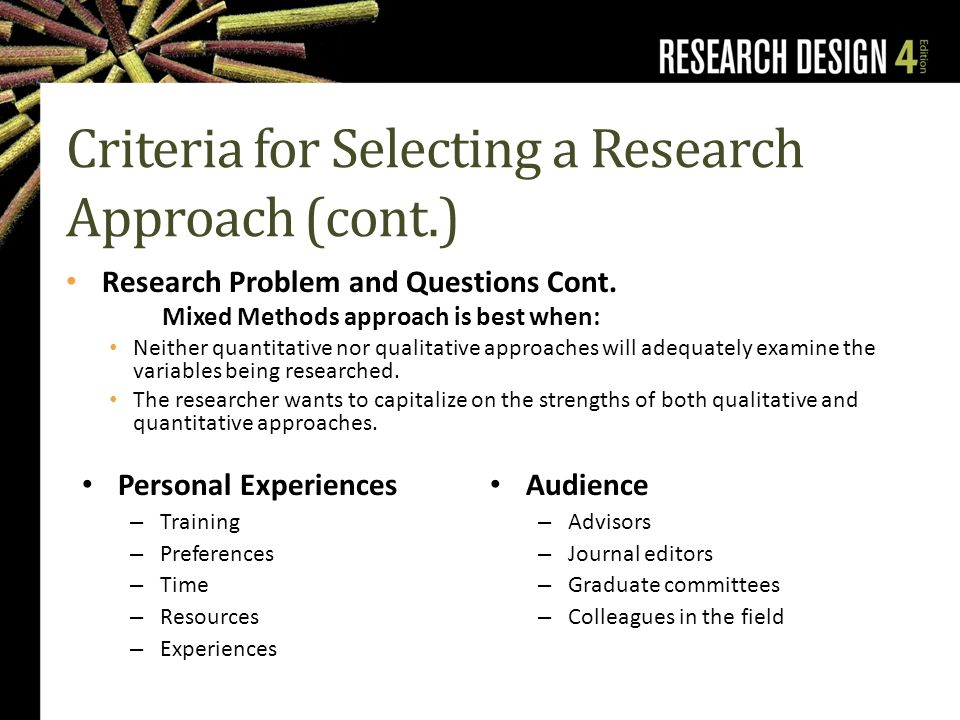 examine the fields of qualitative and For people in social sciences and other fields, the most commonly used type of research is often qualitative research  is that they examine the relationship with.