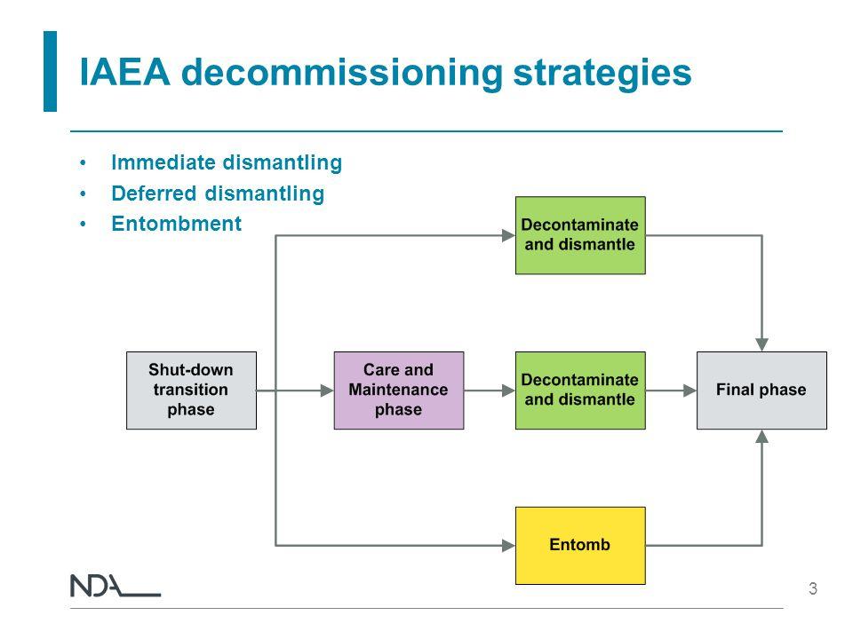 IAEA decommissioning strategies