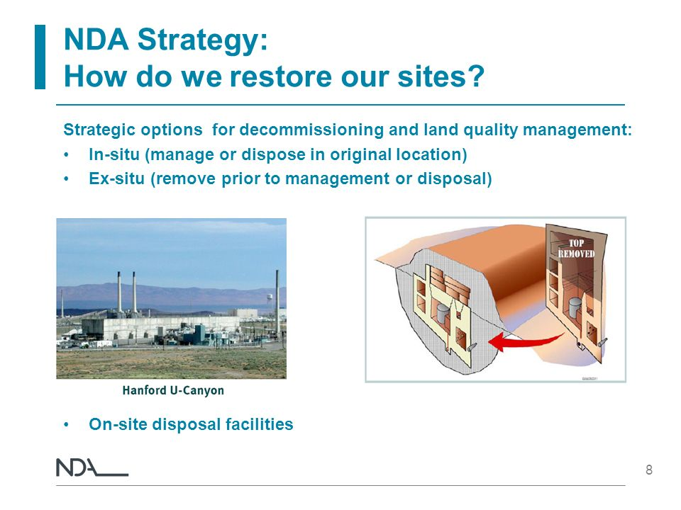 NDA Strategy: How do we restore our sites