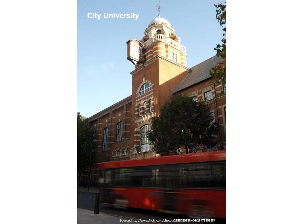 City University Source: http://www.flickr.com/photos/25552808@N04/2847690523/