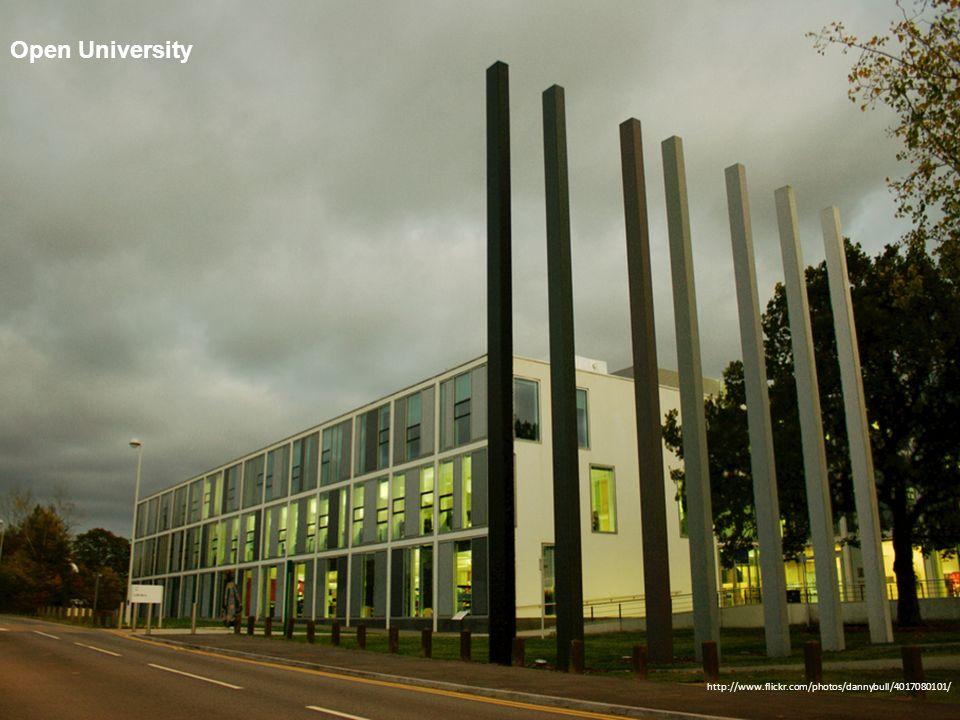 Open University http://www.flickr.com/photos/dannybull/4017080101/