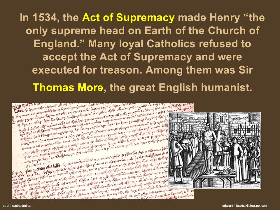 henry viii act of supremacy rough It is one of history's great ironies that the man who publicly refuted him was none other than henry viii, rewarded with the title of fidei defensor.