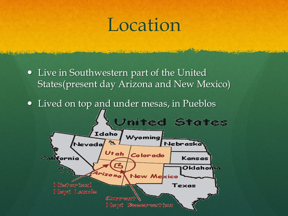Hopi Tribe Jessica Puchalski Ppt Download - Is new mexico part of the united states