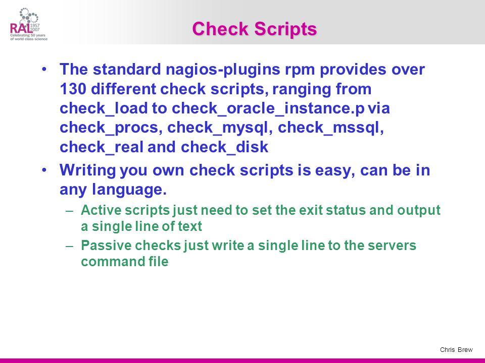 Check Scripts