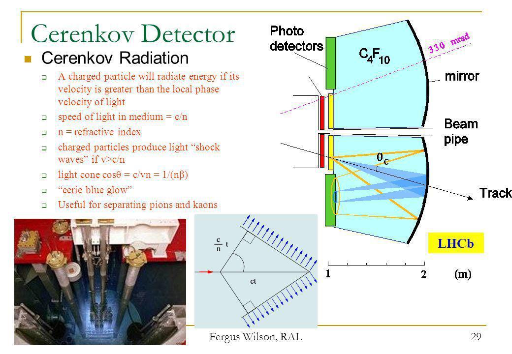 Cerenkov Detector Cerenkov Radiation LHCb 21st April 2008