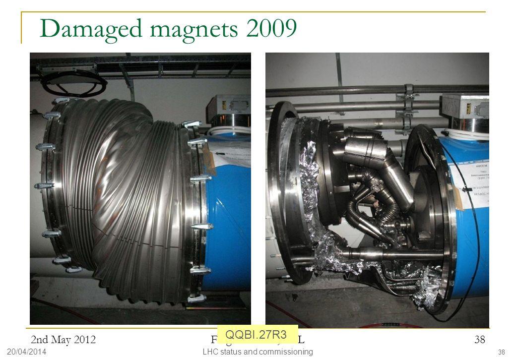 LHC status and commissioning