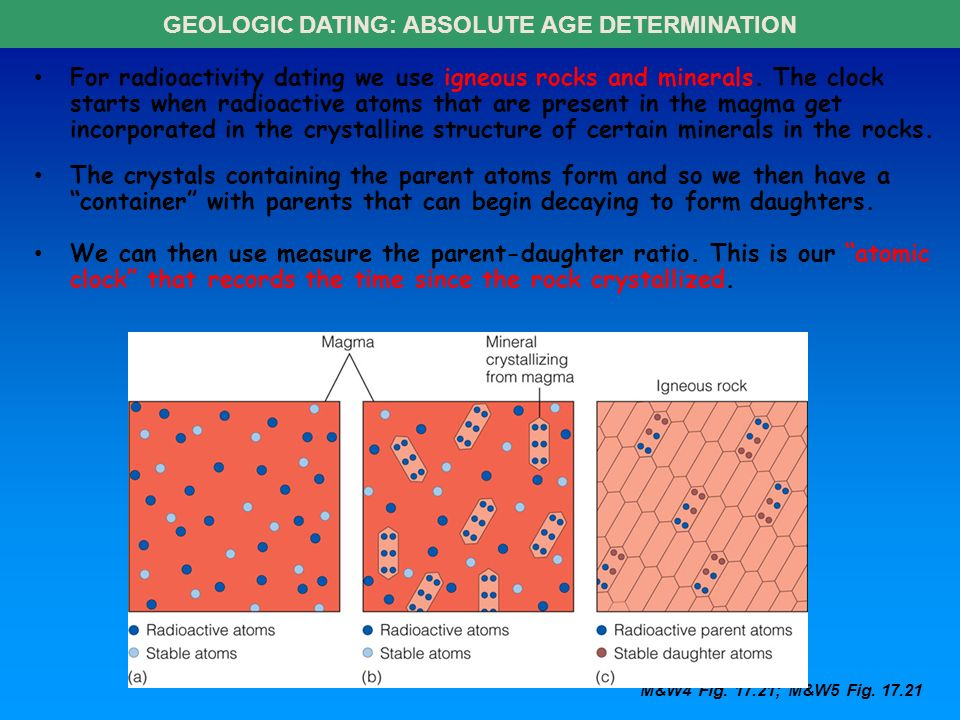 geologic time relative and absolute dating Uniformitarianism over neptunism and  the differences between relative and absolute dating  geologists use two frames of reference for geologic time: relative.