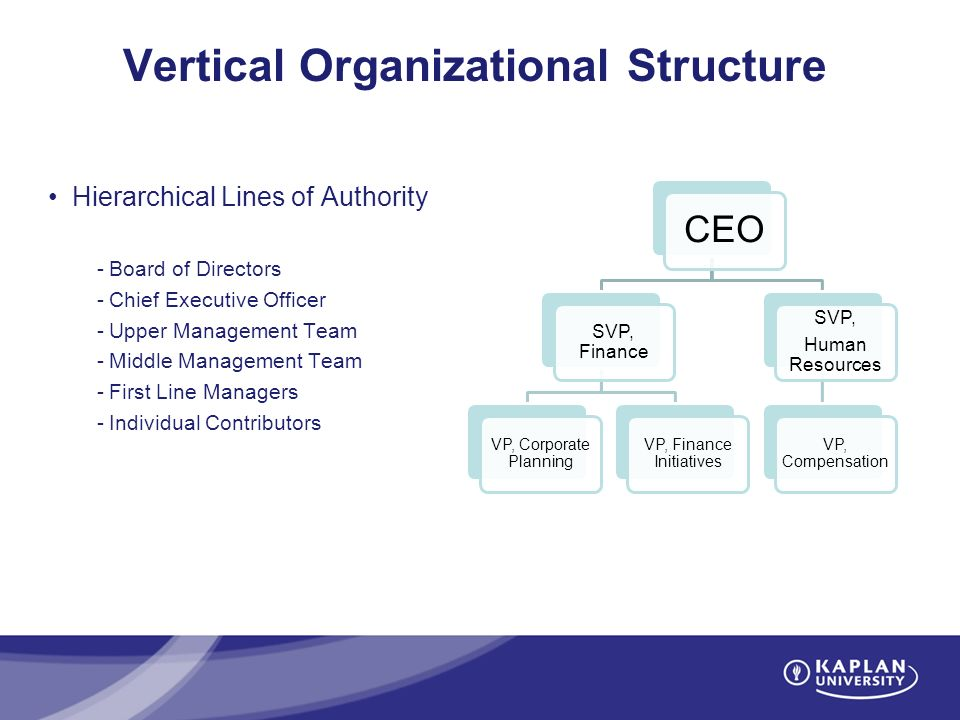 Introduction to Organizational Structure