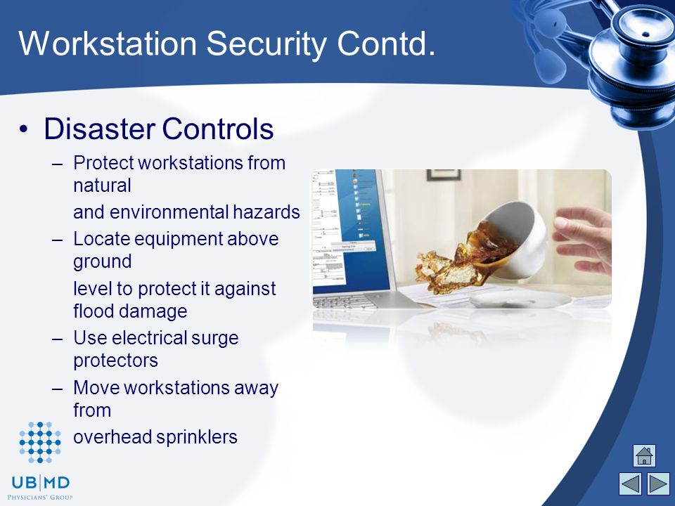 workstation security plan Risk assessment is a very important part of computer security planning no plan of action can be put into place before a risk  a server versus a workstation.