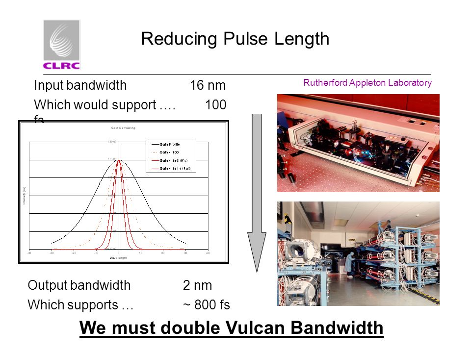 We must double Vulcan Bandwidth