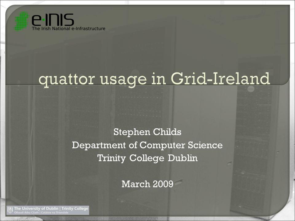 quattor usage in Grid-Ireland
