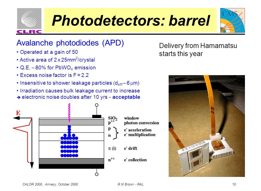 Photodetectors: barrel