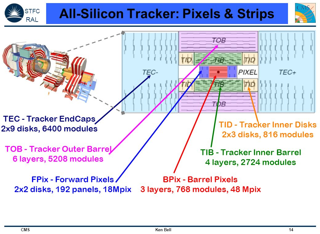 All-Silicon Tracker: Pixels & Strips