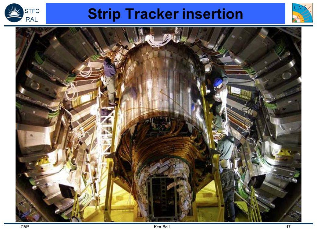 Strip Tracker insertion