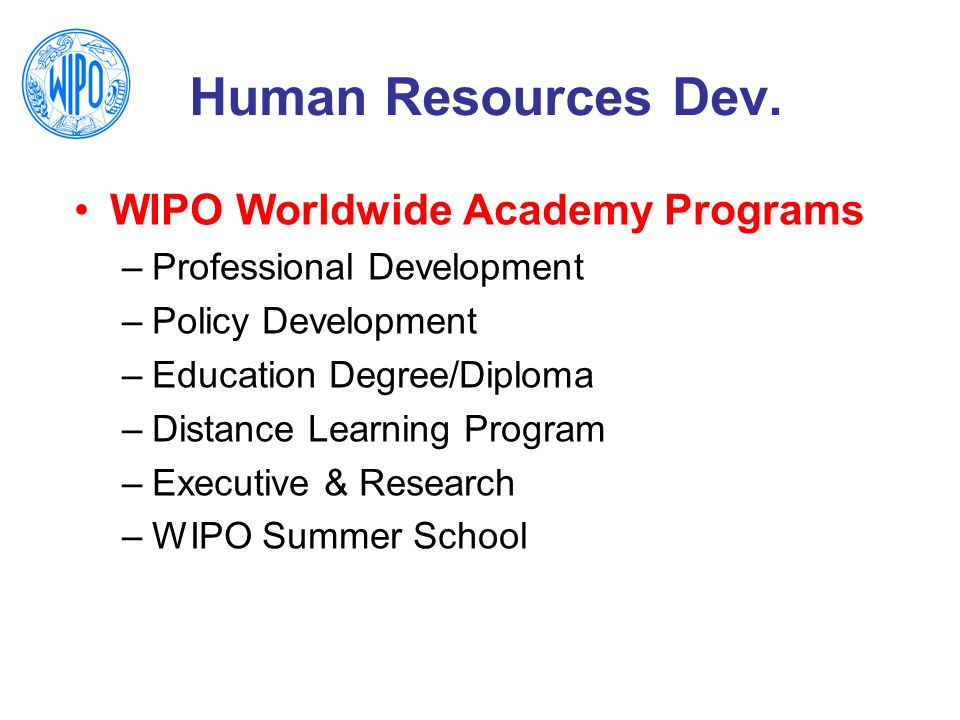 Consultant, WIPO Worldwide Academy - ppt download