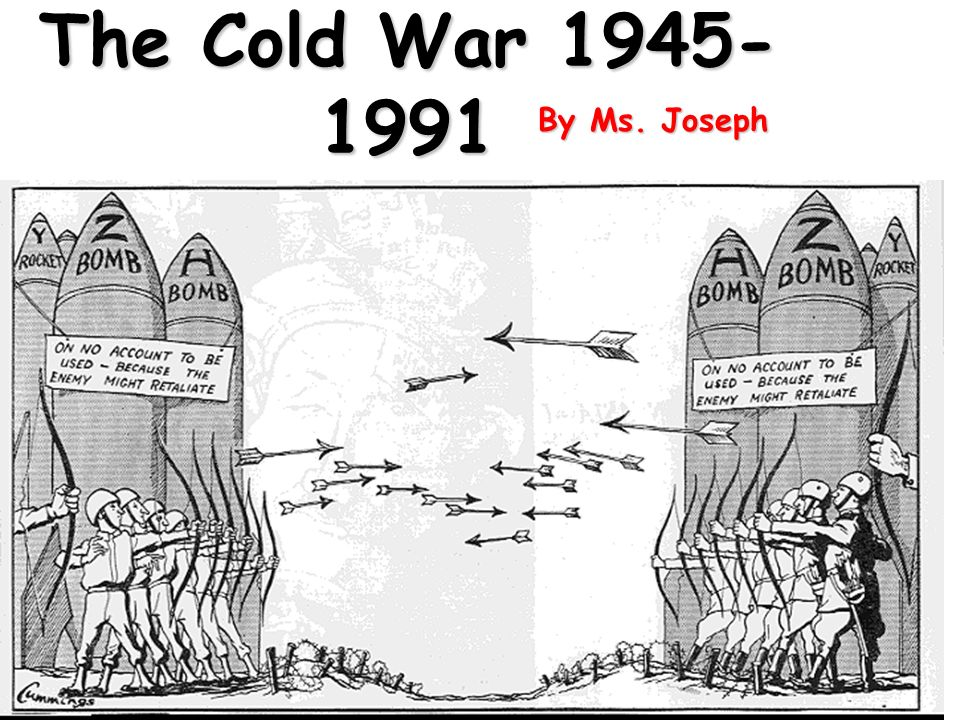 individualism and the cold war Its golden age, however, was the first step of the cold war, when it  of  individualism and competition: such a world would be totalitarian.