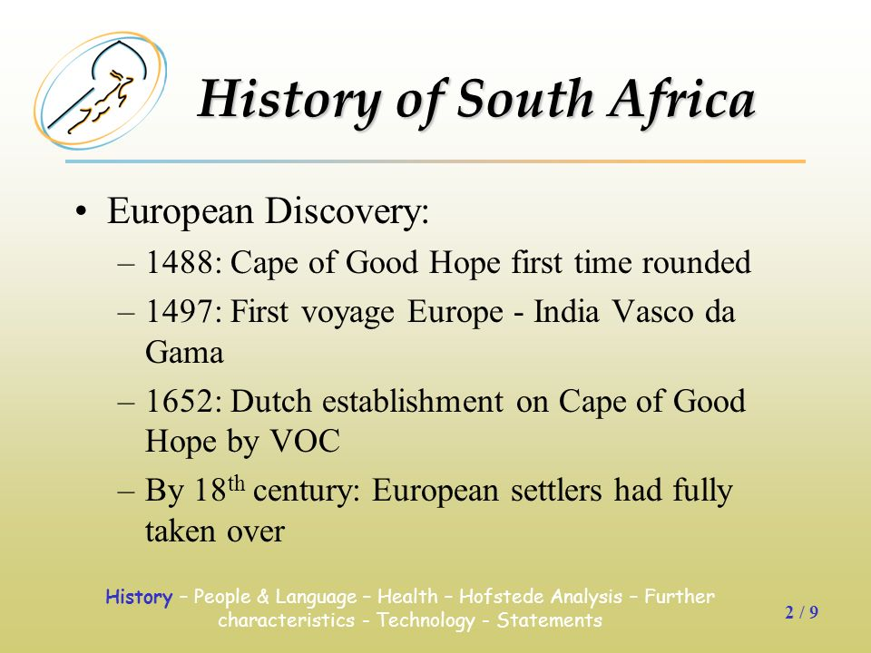 an analysis of south africa settled by dutch History of south africa early european settlement history english and dutch merchants challenged the portuguese monopoly in all the slaves imported into the cape until the british stopped the trade in 1807 were from east africa, mozambique, madagascar, and south and southeast asia.