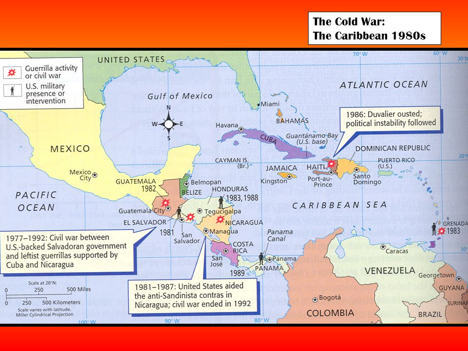The Cold War: The Caribbean 1980s