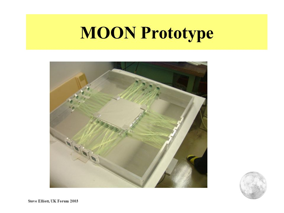MOON Prototype Steve Elliott, UK Forum 2003