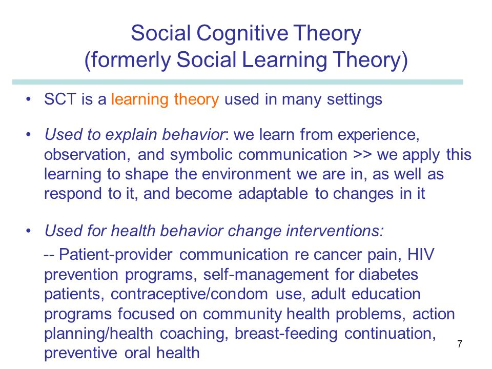 social cognitive theory and alcohol How can the answer be improved.