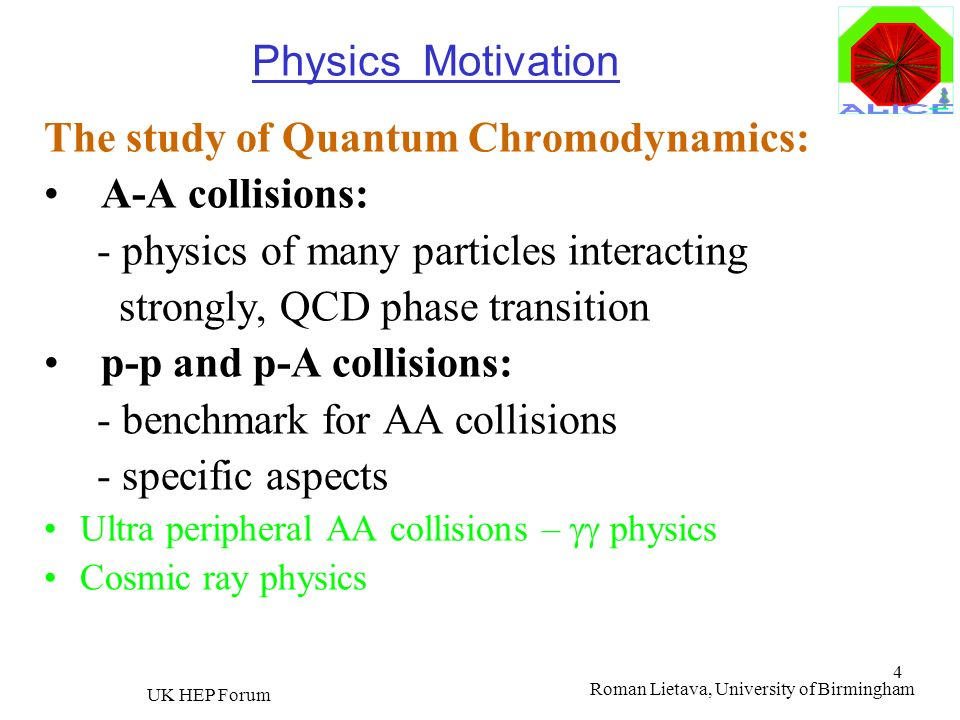 The study of Quantum Chromodynamics: A-A collisions:
